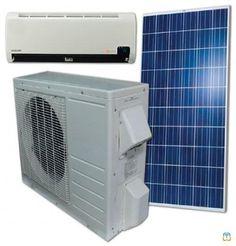 ACDC12 Hybrid Solar Air Conditioner 12000 BTU | Toggar