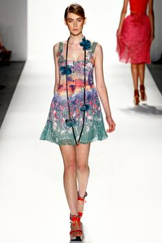 My Coastal floral print for Timo Weiland SS12 Women's Collection