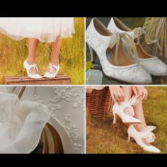 Vintage shoes  For more wedding tips and ideas go to my blog. www.mrspurplerose.com