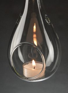Water Drop Glass Hanging Tea Light Holders $5.79 each / 6 for $4.99 each