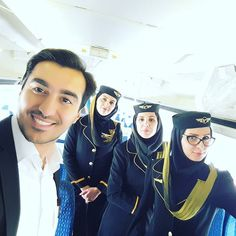 From @flywithhamed full of energy flight with my besties colleagues in #iranair  #crewiser #flightcrew #crewlife #aviation #cabincrew #airplane #flying #flightattendant #stewardess #airhostess #cabincrewlife #avgeek #layover #travel #pilot #airline #crewfie #cabincrewlifestyle #flightattendants #aircraft #plane #airlinescrew #steward #cabinattendant #flightattendantlife #crewlifestyle #airlines