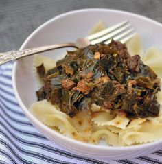 Collard Stew with Chorizo