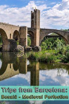 Besalú, a wonderful medieval village close to Barcelona.