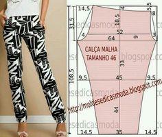 Pants pattern size 46