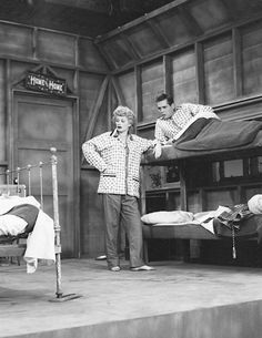 I Love Lucy production still (First Stop)