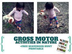 GROSS MOTOR ACTIVITIES IN NATURE