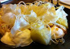 Ensalada de endivias, alcachofas y frutas de la pasión con gorgonzola #Compartir