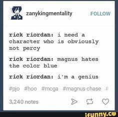 Haha yep, whatever you say Rick Troll Riorden