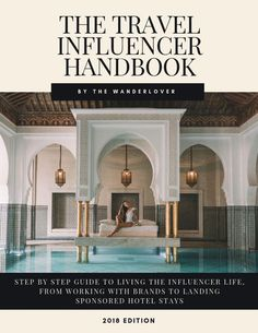 DO YOU WANT TO BE A TRAVEL INFLUENCER? This step-by-step ebook teaches you how to brand your account, work with tourism boards, and how I got to where I am today. Includes the exact email I use to pitch brands and a complete list of brands that pay! Travel Advice, Travel Guides, Travel Tips, Travel Hacks, Travel Money, Travel Vlog, Travel Checklist, Travel Channel, Travel Goals