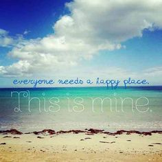 The beach is my happy place!! ☀