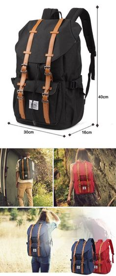 "#Kaukko New Feature of 2 Side Pockets Outdoor #Travel #Hiking #Backpack #Laptop #Schoolbag for Men and Women. High end waterproof nylon Cotton lining 35.4"" shoulder drop https://twitter.com/TheMarketer2015/status/696386030249889792"