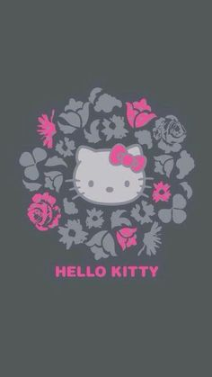 Image in Hello kitty collection by ป่านแก้ว on We Heart It Vans Hello Kitty, Hello Kitty Art, Hello Kitty Themes, Hello Kitty My Melody, Sanrio Hello Kitty, Sanrio Wallpaper, Wallpaper Iphone Cute, Cute Wallpapers, Hello Kitty Pictures