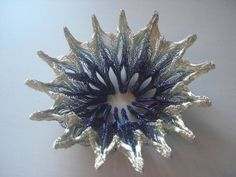 origami jewellery wirework brooch star by Reillyfacet on Etsy, £150.00