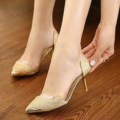 Pointed Toe Stiletto Heel Pumps Women's Shoes – GBP £ 18.34