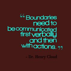BOUNDARIES QUOTES CLOUD TOWNSEND image quotes at BuzzQuotes.com
