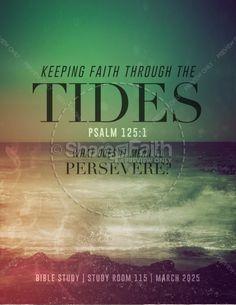 Faith Through Tides Christian Flyer. Easter VideosFlyer Template 7c0271ffc