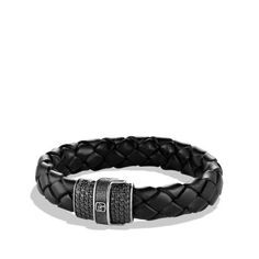 Chevron Bracelet in Woven Leather