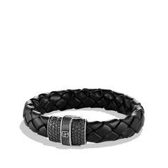 Chevron Bracelet in Woven Leather