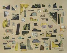 ray yoshida artist | Artist: Ray Yoshida (1930-2009)