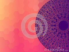 Colour Henna Mandala Background - Download From Over 37 Million High Quality Stock Photos, Images, Vectors. Sign up for FREE today. Image: 40481578