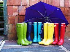 Rain-boots!