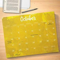 Calendars TF Publishing Multi Colored Watercolor