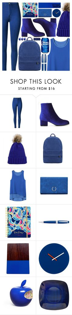 """Casual Yoins"" by pastelneon ❤ liked on Polyvore featuring Lilly Pulitzer, Cross, Eightmood and Li Lihong"