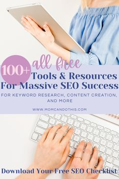 Make Money Blogging, How To Make Money, Free Seo Tools, Seo Tips, Clueless, Search Engine Optimization, Blogging For Beginners, Time Management, Step By Step Instructions