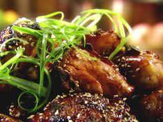 Grilled Honey-Teriyaki Chicken Recipe : Tyler's ultimate Food Network - Tyler Florence