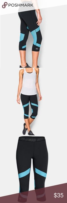 Under Armour Heatgear cool switch leggings New with tags, retails for $60 - women size large Under Armour Pants Leggings