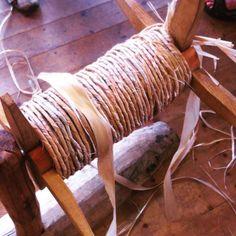Lime bast rope for the Gislinge Boat's rig - Vikingeskibsmuseet Roskilde