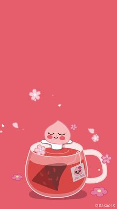 Peach Wallpaper, Cute Pastel Wallpaper, Friends Wallpaper, Iphone Background Wallpaper, Kawaii Wallpaper, Wallpaper Iphone Cute, Aesthetic Iphone Wallpaper, Anime Backgrounds Wallpapers, Cute Wallpaper Backgrounds