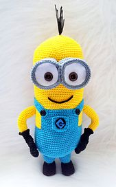 Ravelry: Crochet Minion Pattern Despicable Me 2 pattern by Laila Saide