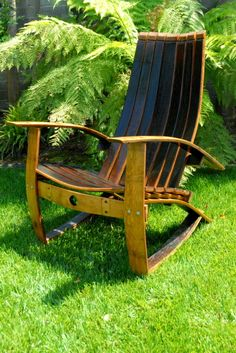Wine Barrel Chair ... Gorgeous!
