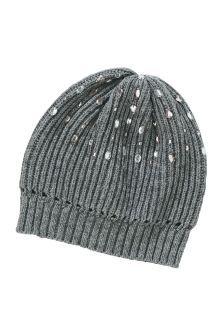 f8339acdbae Jewel Beanie (Older Girls) Pink Hat