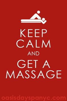 Nothing keeps you calmer than our massages!