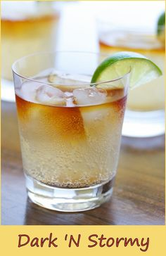 A great cocktail from Bermuda… The original cocktail is made with Gosling's Black rum Ingredients 1 part dark rum 2 parts ginger beer ice cubes Preparation Add the ingredients in a highball glass with ice. Garnish with a lime slice. Serve and enjoy! Related posts: Mai Tai Hurricane Strawberry Margarita Sidecar Screwdriver