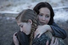 Pretty pic of Katniss and Prim!