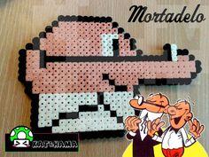Mortadelo Hama perler beads by Khatrina on deviantART