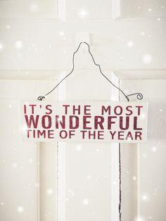 Yep it is...the Most wonderful Time of the Year. Christmas Season light White warm Glitter photo