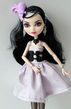 Ever After High Doll Clothes Duchess Swan by CecietCette on Etsy