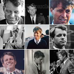 When people say JFK is better looking than Bobby... show me the receipts. ✌