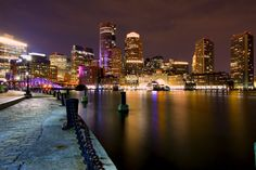 Photograph Boston Skyline by K S on 500px