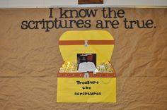 Church Bulletin Board Ideas | Little LDS Ideas: Primary Bulletin Board Ideas for 2011: 'I Know the ...
