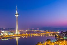 Tour de Macao, Chine. http://www.lonelyplanet.fr/article/les-10-regions-visiter-en-2015 #tour #macao #chine #voyage #2015