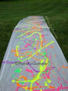Oh my god I did this with my friend last year... it was messy... but SO AWESOME<3<3<3