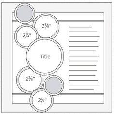 """ScrapBook Ideas: Sketch 42 y otros!!! Puros """"Libres de ácido"""""""