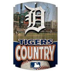 Detroit Tigers Sign Tigers Country