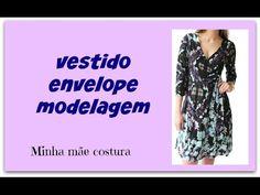 MODELANDO VESTIDO ENVELOPE   TRANSPASSADO   WRAP DRESS