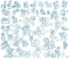 Collected some good looking digital sketches of ponies in one dump. (Rarity and Luna - Yes, this is the original sketch of [link]) Just Drawing Ponies My Little Pony Twilight, How To Do Drawing, Drawing Tips, Dragon Poses, Facial Expressions Drawing, Pony O, Dog Poses, My Little Pony Drawing, Cat Pose